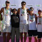 Primos Grimalt ganaron la octava fecha de la Liga Nacional de Volleyball Playa