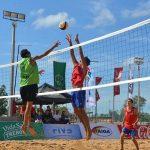Duplas chilenas de volleyball playa enfrentaron la primera fecha del clasificatorio a los Juegos Olímpicos de la Juventud