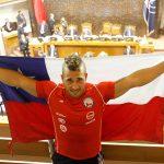Senado aprobó la nacionalización por gracia del pesista Arley Méndez