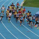 Con éxito se realizó la primera jornada del atletismo en los Juegos Nacionales