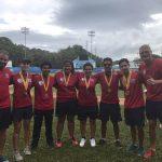 Team Chile de Tiro con Arco ganó cinco medallas en la Copa Juan Enrique Barrios de Puerto Rico