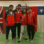 Equipo masculino de sable obtuvo dos medallas en torneo satelite de Islandia