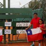 Chile cerró con triunfos su participación en el Sudamericano Sub 12 de Tenis