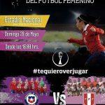 La Roja Femenina juega un amistoso ante Perú este domingo en el Estadio Nacional