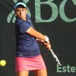 Daniela López se instaló en cuartos de final de dobles en el ITF de Buenos Aires