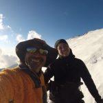 Tamara Muñoz y Rodrigo Vivanco alcanzaron la cima del monte Dhaulagiri
