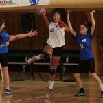 Este lunes se realizó la tercera fecha del handball en los Juegos Nacionales
