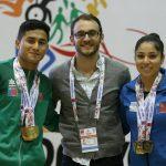 Joel Álvarez y Camila Vílchez dominaron el all around de la gimnasia artística en los Juegos Nacionales