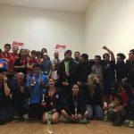 Con éxito se realizó la primera fecha del Circuito Nacional de Racquetball 2017