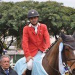 Rodrigo Carrasco clasificó a los Juegos Mundiales Ecuestres 2018