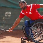 Robinson Méndez anunció su retiro del tenis en silla de ruedas y su llegada al paracanotaje