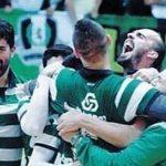 Marco Oneto obtuvo el campeonato de Portugal junto al Sporting de Lisboa