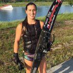 Valentina González iguala su récord chileno de slalom en la previa al Junior US Masters