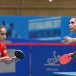 Paulina Vega y Judith Morales lograron el vicecampeonato de dobles en el Chile Open de Tenis de Mesa