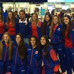Selección Sub 20 de Volleyball Femenino viajó a disputar la Copa Panamericana en Costa Rica