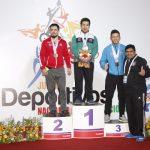 Biobío, Metropolitana y Araucanía lideraron segunda jornada de las pesas en los Juegos Nacionales