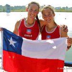 Antonia y Melita Abraham obtuvieron el cuarto lugar en la Copa del Mundo de Remo