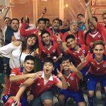 Selección Chilena de Fútbol 7 buscará su paso a la final de la Barcelona Cup