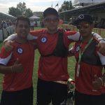 Equipo chileno realizó una buena presentación en la Archery World Cup de Salt Lake City