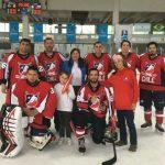 Chile sumó sus primeros triunfos en el Panamericano de Hockey sobre Hielo