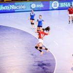 """Las """"Lobas"""" derrotaron a Guatemala por el Panamericano Femenino de Handball"""