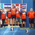 Chile sumó cinco medallas en el Iberoamericano de Tiro al Blanco