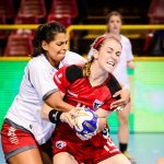 """Las """"Lobas"""" caen ante USA y jugarán por el séptimo lugar del Panamericano Femenino de Handball"""