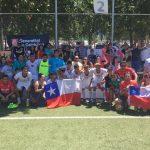 Selección Chilena de Fútbol 7 se quedó con el vicecampeonato de la Barcelona Cup