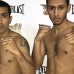 Daniel Muñoz y Sebastián Martínez cumplieron con el pesaje previo a la velada en el Club México