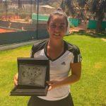 Fernanda Brito se tituló campeona del ITF 15K de Hammamet