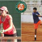 Fernanda Labraña y Matías Soto cayeron en primera ronda de Roland Garros Junior