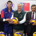 Este martes se realizó el lanzamiento del Sudamericano Adulto Masculino de Volleyball 2017
