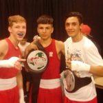 """Luis """"Junior"""" Cruzat se tituló campeón del torneo """"Futuras Estrellas del Boxeo"""" en USA"""