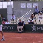 Julio Peralta y Horacio Zeballos cayeron en cuartos de final de dobles de Roland Garros
