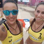 Francisca Rivas y Pilar Mardones cayeron en octavos de final del World Tour de Nantong