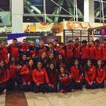 Selección Chilena de Karate viajó a Santa Cruz para disputar el Sudamericano