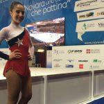 Sofía Riess se quedó con el título en Torneo Internacional de Patinaje Artístico en Italia