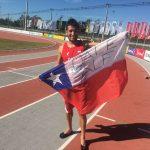 Víctor Aravena gana medalla de oro en el Sudamericano y clasifica al Mundial de Atletismo