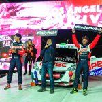 """""""Chaleco"""" López ganó la categoría R2 en el Gran Premio de Los Ángeles del RallyMobil"""