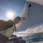 Clemente Seguel lidera invicto el selectivo para los mundiales de Sunfish