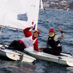 Clemente Seguel y Kelly González lideran el Selectivo de Láser Radial para el Mundial Juvenil