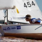 Dante Parodi y Emma Seguel celebraron en el segundo Gran Prix de Optimist