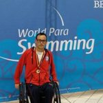Alberto Abarza alcanza el número 1 del mundo de la natación paralímpica