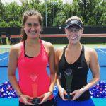 Alexa Guarachi se tituló campeona de dobles del ITF de Auburn