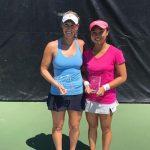 Alexa Guarachi se quedó con el vicecampeonato de dobles del ITF de Granby