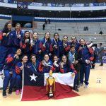 La Roja U17 obtuvo el tercer lugar en el Sudamericano de básquetbol femenino