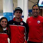 Selección Chilena de Tenis Playa viajó este martes al Mundial de Rusia