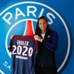 Christiane Endler fue presentada como nueva jugadora del Paris Saint-Germain