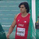 Claudio Romero clasificó a la final del lanzamiento del disco en el Mundial Sub 18 de Atletismo