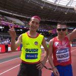 Cristián Valenzuela clasificó a la final de los 1500 metros en el Mundial de Atletismo Paralímpico